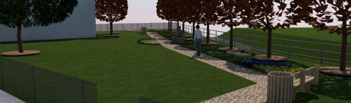 Revitalizácia parku v obci Stuľany