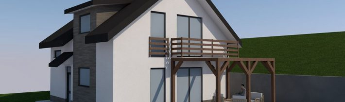 Projekt novostavby rodinného domu – Hervartov 2016