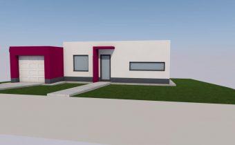Projekt novostavby rodinného domu – Kobyly 2016
