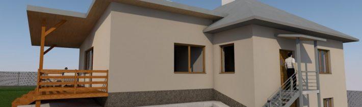 Prístavba k rodinnému domu – Rešov