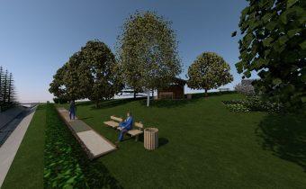 Revitalizácia parku v obci Kochanovce