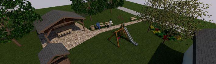 Vybudovanie oddychovej zóny v obci Koprivnica – časť Dubie