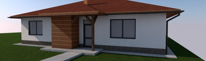 Projekt novostavby rodinného domu – Hervartov 2018