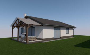 Projekt novostavby rodinného domu – Bardejov-Mihaľov 2018