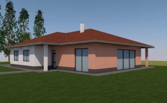 Projekt novostavby rodinného domu – Bardejov 2018