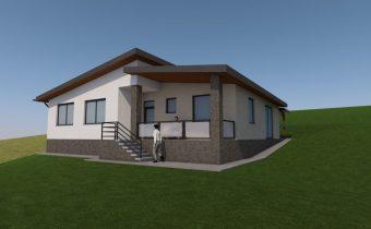 Projekt novostavby rodinného domu – Kurov 2018