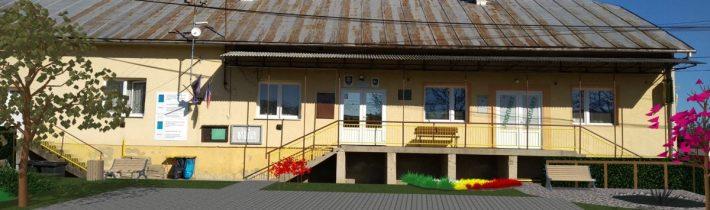 Revitalizácia zelene pred obecným úradom Kochanovce