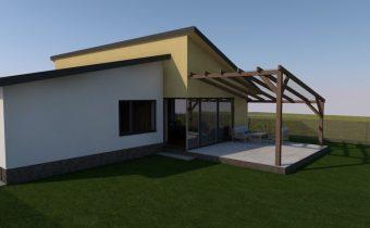 Projekt novostavby rodinného domu – Kobyly 2019