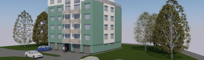 Nadstavba bytového domu Prešov – štúdia 2019
