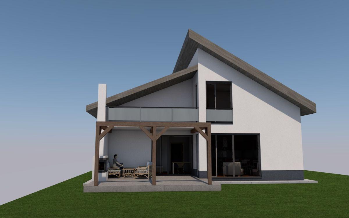 Projekt rodinného domu - Hrabovec